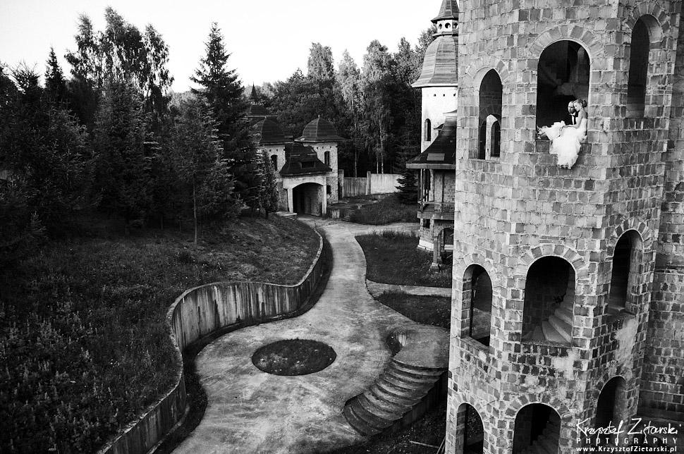 Plener ślubny w ruinach - Trójmiasto, sesja ślubna w zamku - fotograf Gdańsk, Gdynia, Sopot