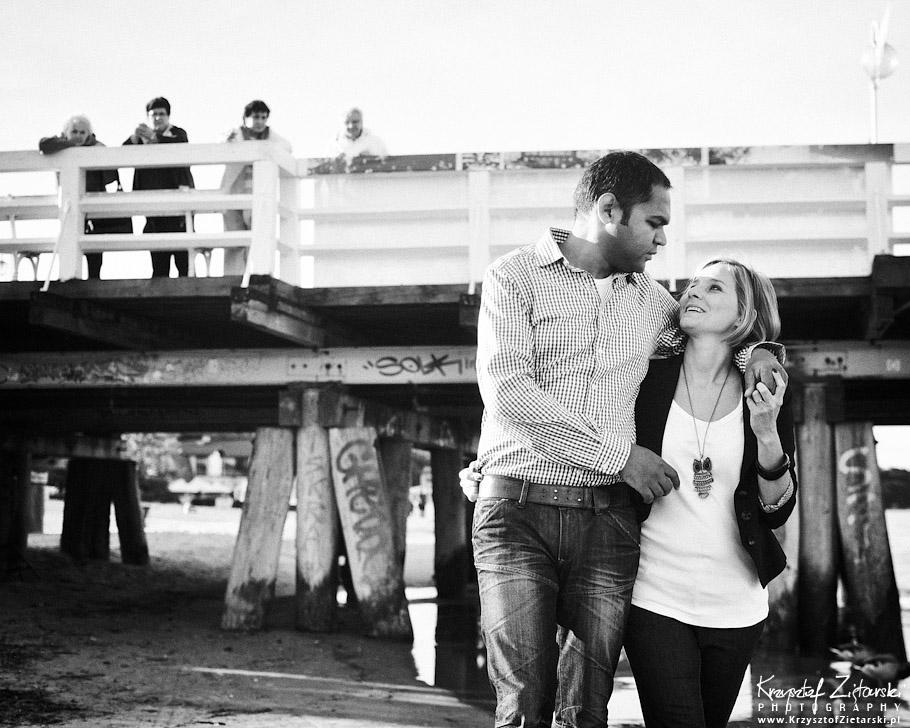 Małżeńska sesja fotograficzna w rocznicę ślubu - fotograf Sopot