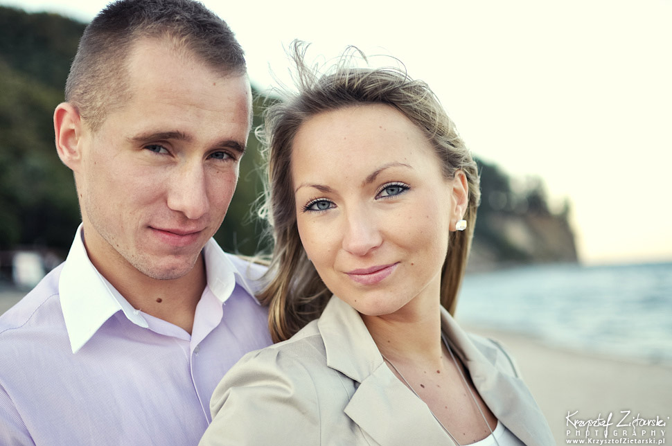 Sesja fotograficzna dla zakochanych par - fotograf Gdańsk