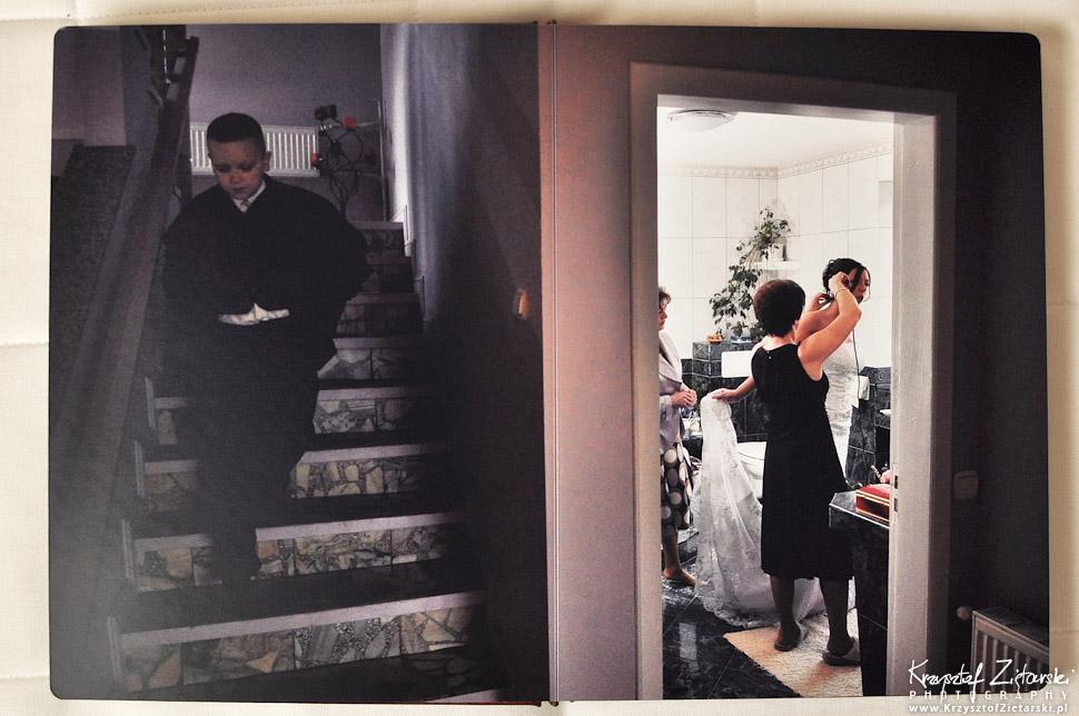 Fotoksięga ze zdjęciami ze ślubu Gdańsk, Gdynia, Sopot, Trójmiasto