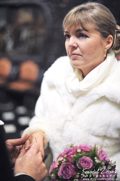 ślub zimą - Fotografia ślubna Gdańsk Sopot