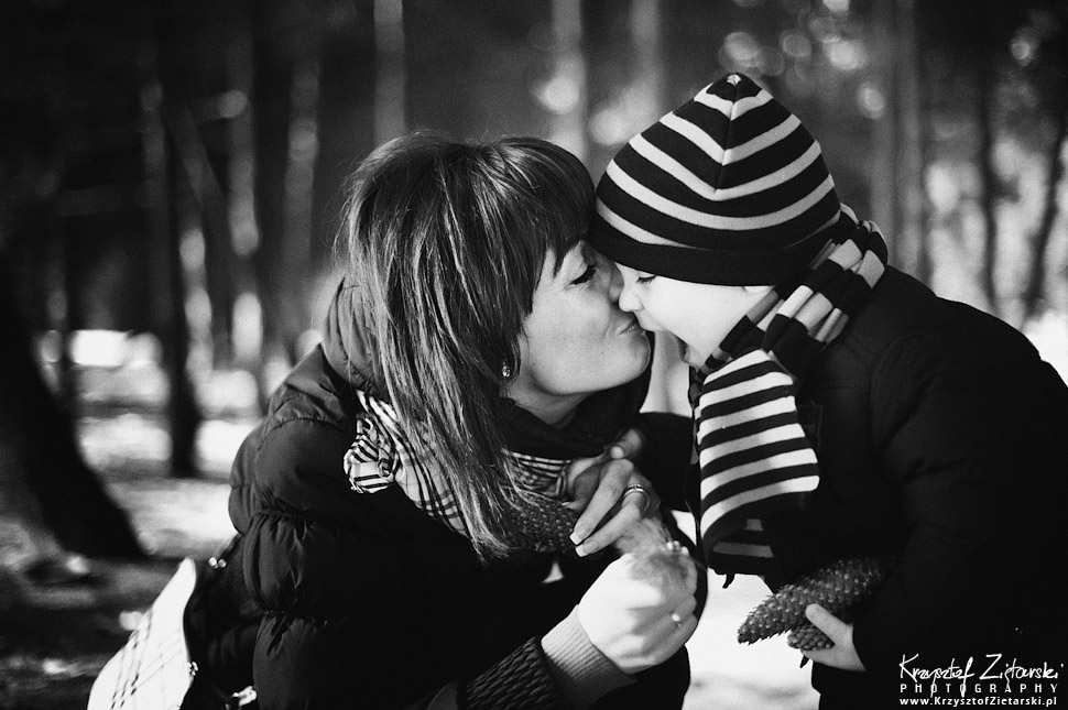 Fotografia rodzinna Gdańsk - sesja z dzieckiem