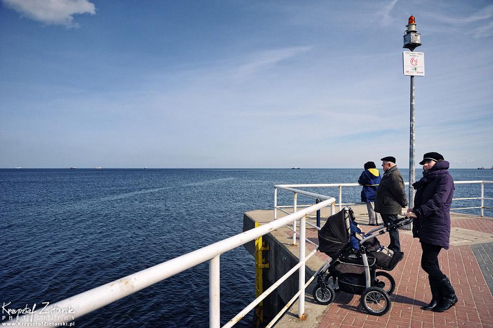 spacer nad morzem - Gdańsk