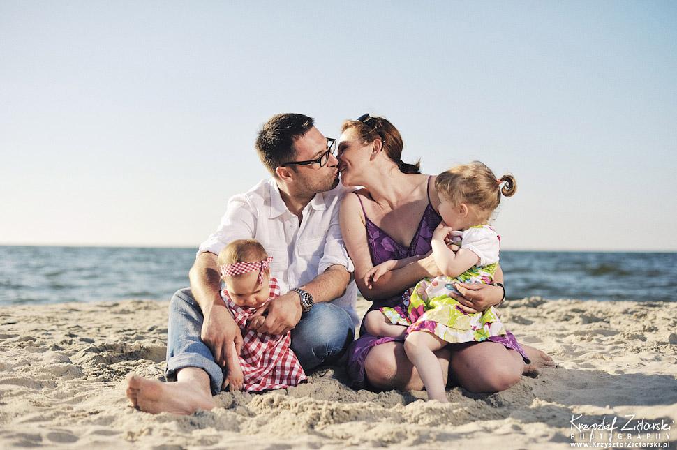 Sesja rodzinna nad morzem - fotograf Krynica Morska, Gdańsk