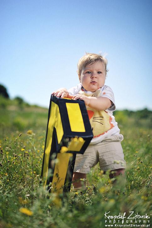 Zdjęcie dziecka na roczek - pomysły