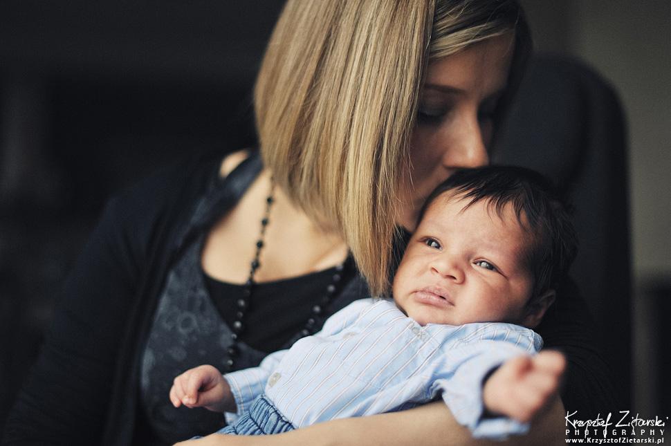 Iwona, Naveen i Alexander - fotografia rodzinna, zdjęcia noworodka - sesja Gdańsk, Gdynia, Sopot, Trójmiasto