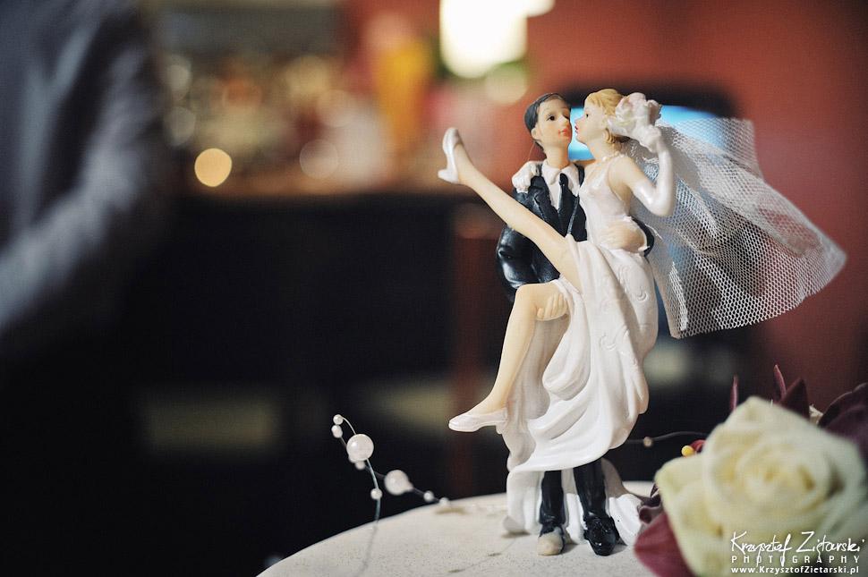 Śmieszne figurki na tort weselny