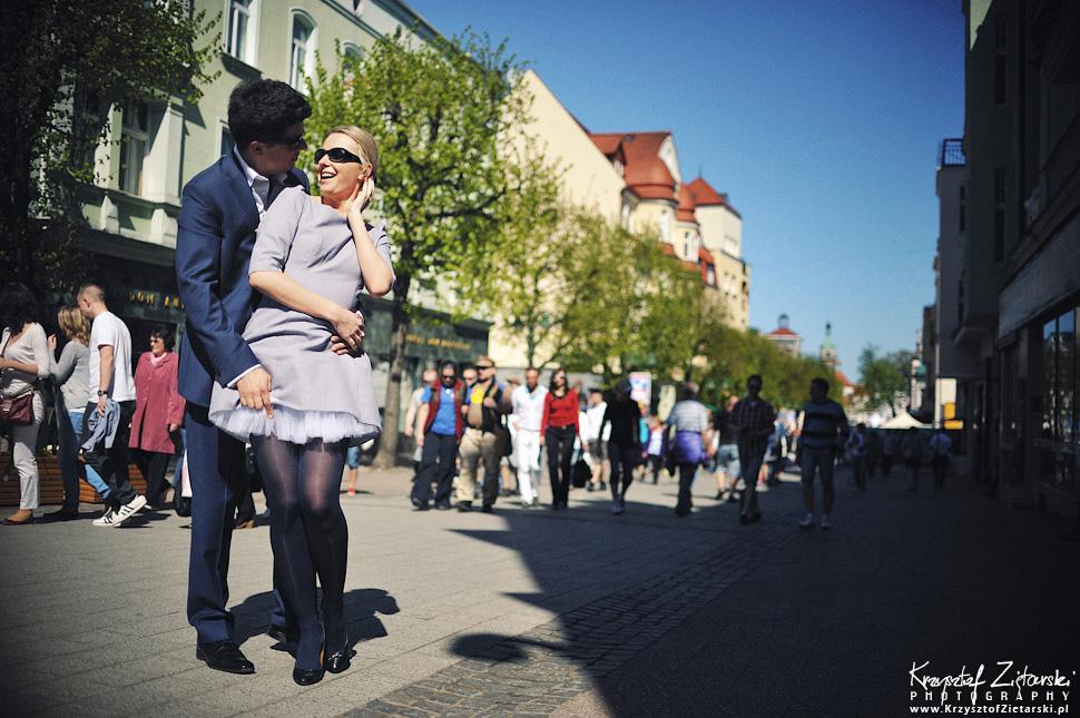 Sesja narzeczeńska na Monciaku w Sopocie - fotograf Gdańsk