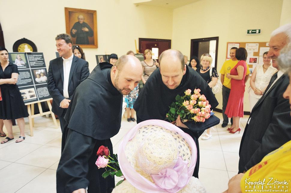 100.urodziny p.Jadwigi Stasiłowicz w Hospicjum im.ks.E.Dutkiewicza w Gdańsku