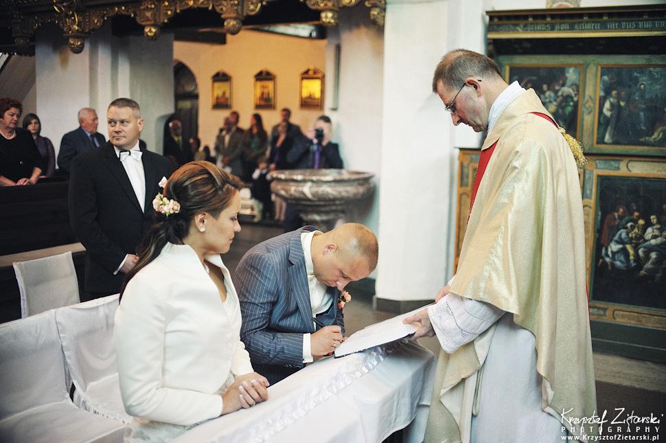 Fotografia ślubna Pruszcz Gdański, Hotel Trzy Stawy