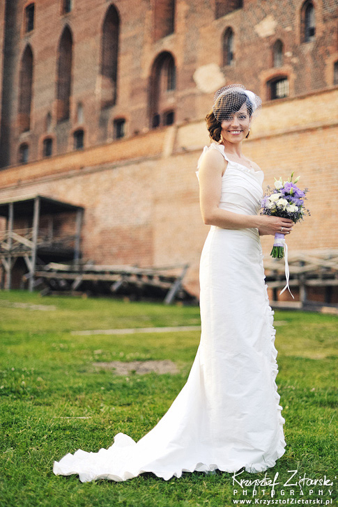 Ślub i wesele na zamku w Gniewie - Iza & Sylvain