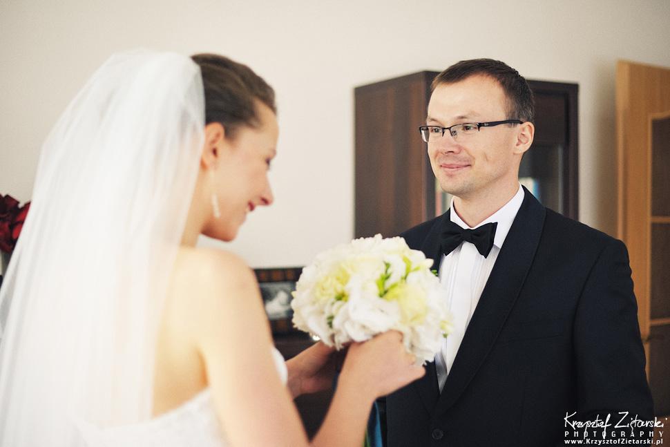 Ślub Kasi i Konrada u Dominikanów w Gdańsku, wesele w Hotelu Quubus, - 14.