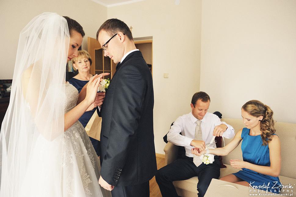 Ślub Kasi i Konrada u Dominikanów w Gdańsku, wesele w Hotelu Quubus, - 17.