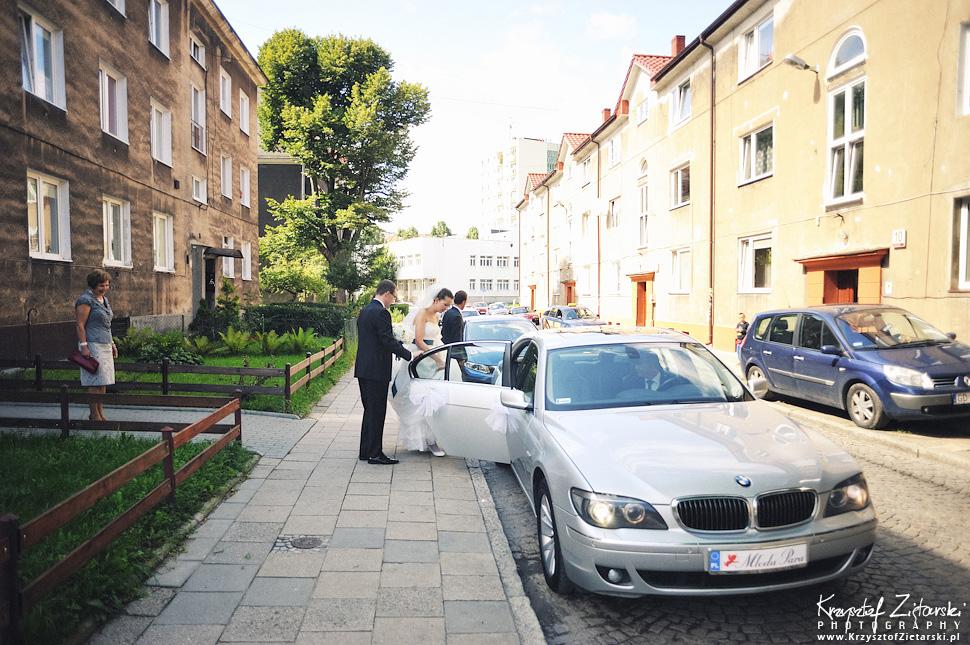 Ślub Kasi i Konrada u Dominikanów w Gdańsku, wesele w Hotelu Quubus, - 25.