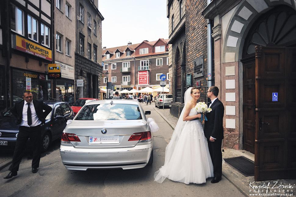 Ślub Kasi i Konrada u Dominikanów w Gdańsku, wesele w Hotelu Quubus, - 27.
