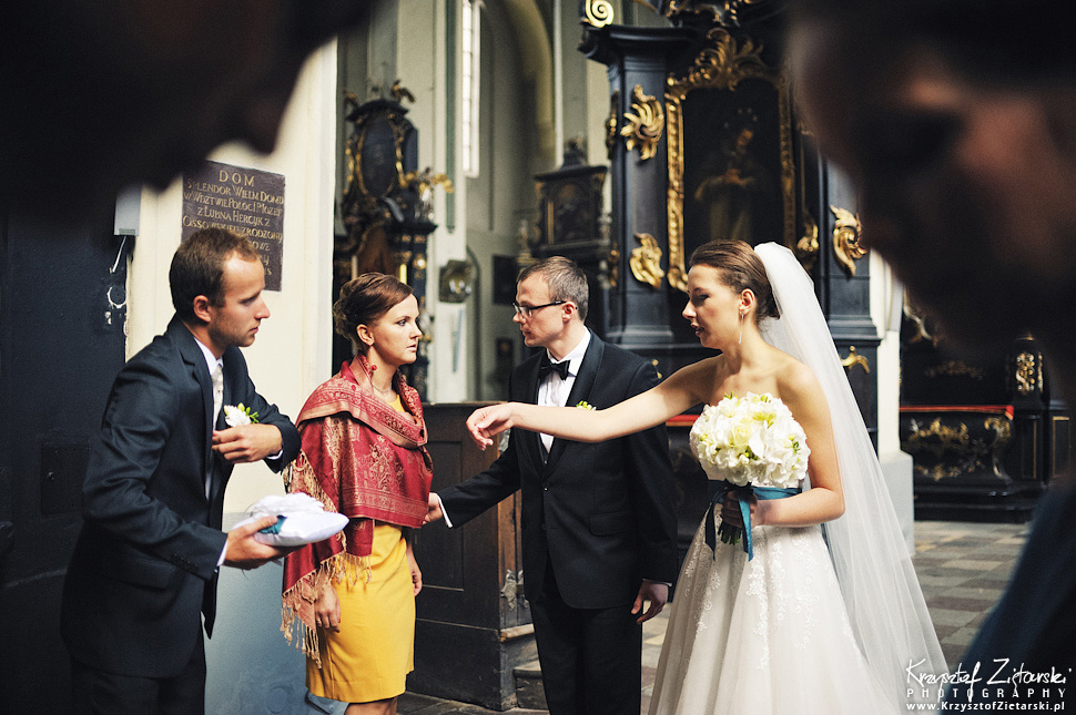 Ślub Kasi i Konrada u Dominikanów w Gdańsku, wesele w Hotelu Quubus, - 30.
