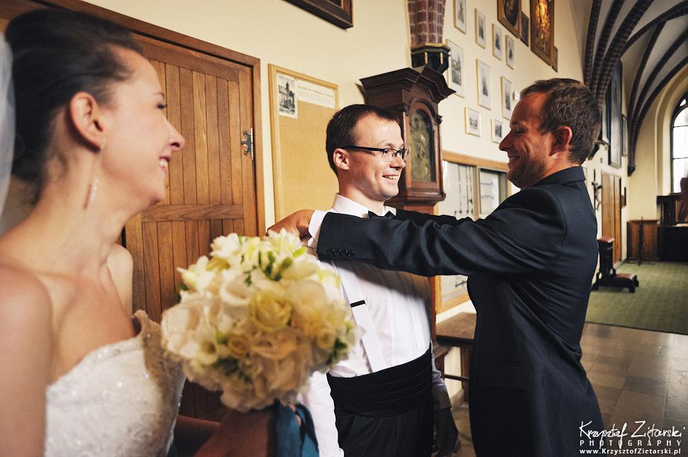 Ślub Kasi i Konrada u Dominikanów w Gdańsku, wesele w Hotelu Quubus, - 33.