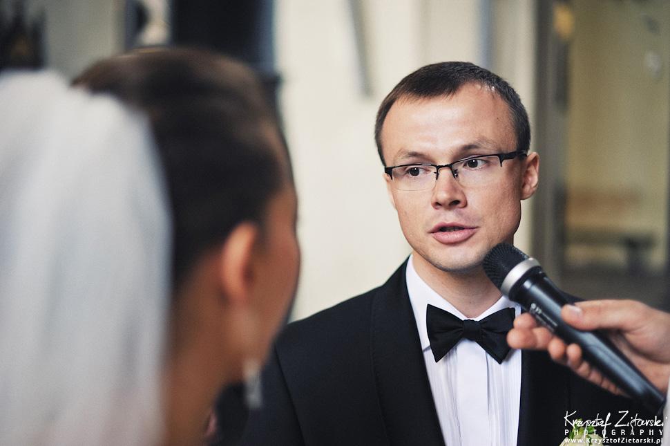 Ślub Kasi i Konrada u Dominikanów w Gdańsku, wesele w Hotelu Quubus, - 50.