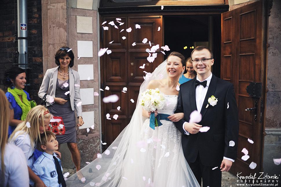 Ślub Kasi i Konrada u Dominikanów w Gdańsku, wesele w Hotelu Quubus, - 75.