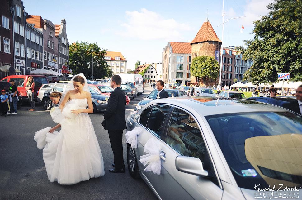 Ślub Kasi i Konrada u Dominikanów w Gdańsku, wesele w Hotelu Quubus, - 83.