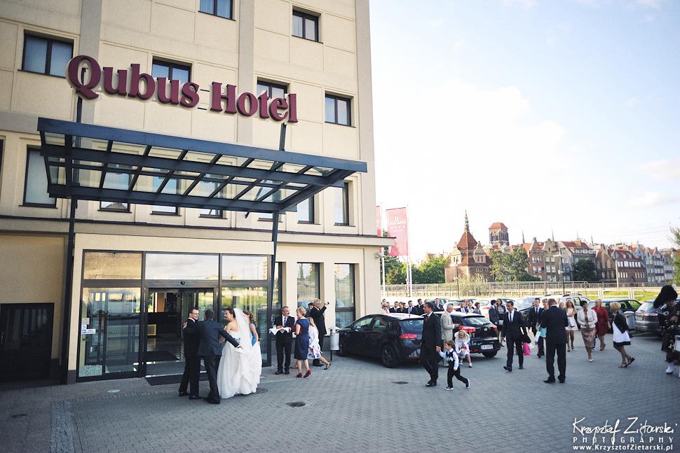 Ślub Kasi i Konrada u Dominikanów w Gdańsku, wesele w Hotelu Quubus, - 95.