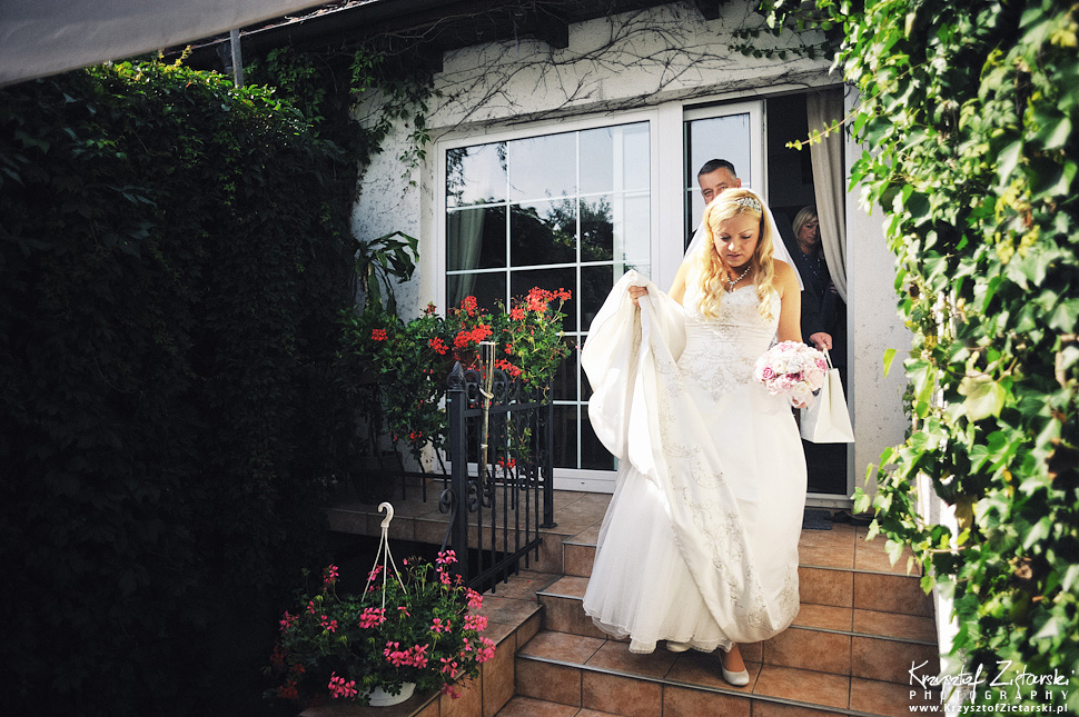 Ślub Marty i Dave'a - ślub polsko-angielski w Gdańsku, fotografia ślubna Gdańsk, Villa Eva - 8.