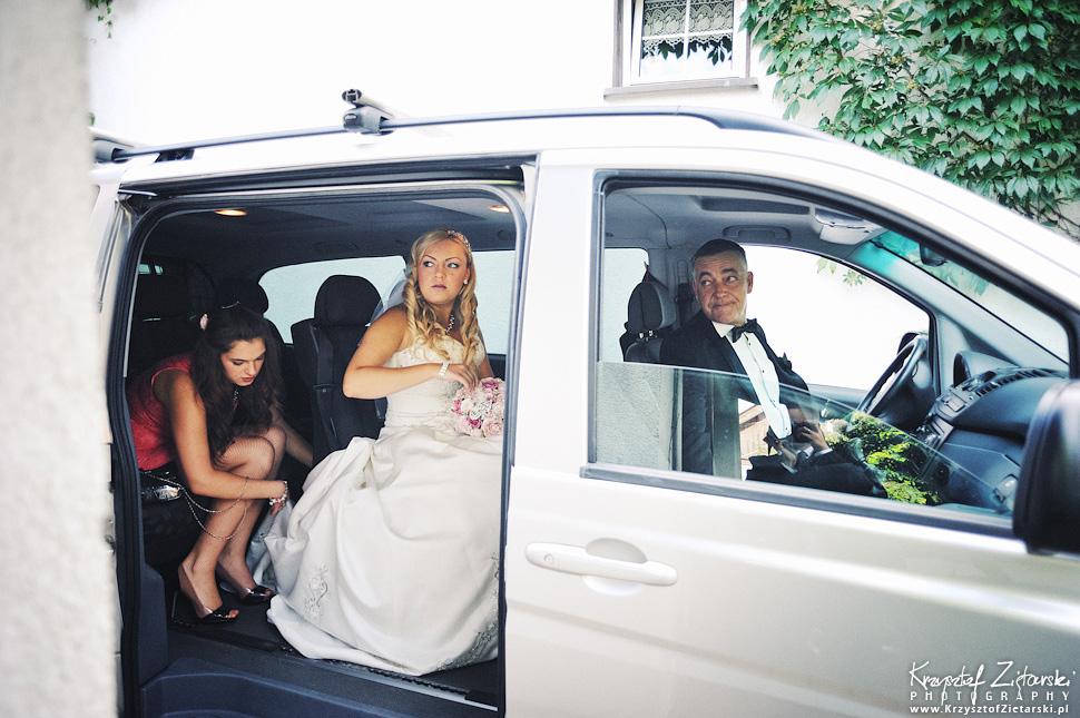 Ślub Marty i Dave'a - ślub polsko-angielski w Gdańsku, fotografia ślubna Gdańsk, Villa Eva - 9.