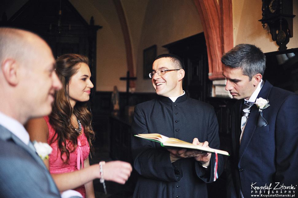 Ślub Marty i Dave'a - ślub polsko-angielski w Gdańsku, fotografia ślubna Gdańsk, Villa Eva - 15.