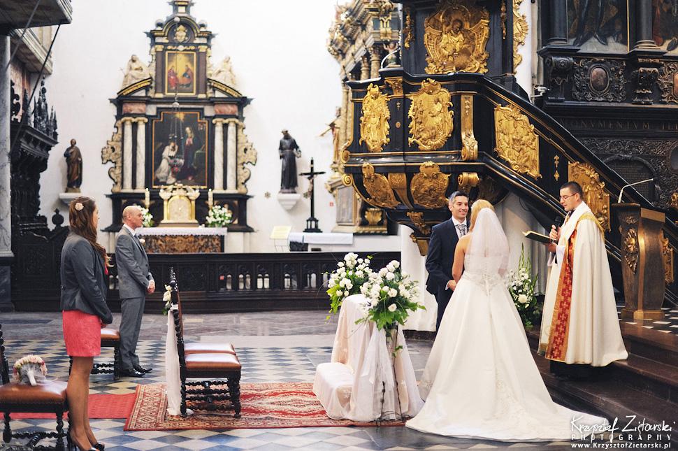 Ślub Marty i Dave'a - ślub polsko-angielski w Gdańsku, fotografia ślubna Gdańsk, Villa Eva - 22.