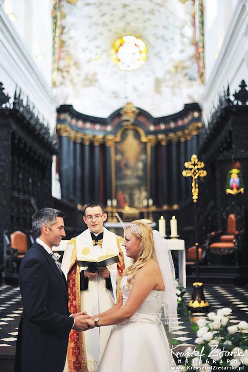 Ślub Marty i Dave'a - ślub polsko-angielski w Gdańsku, fotografia ślubna Gdańsk, Villa Eva - 23.