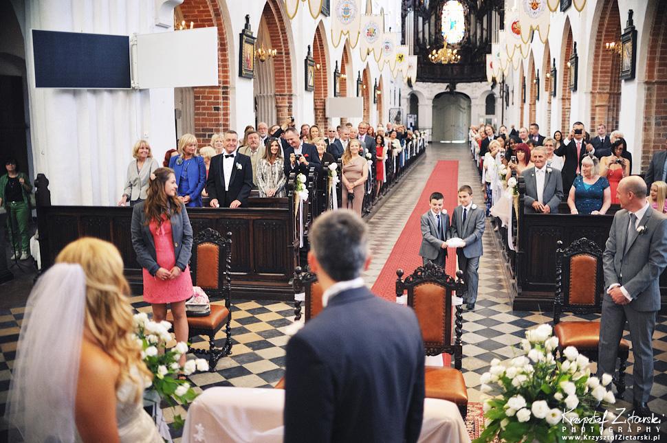 Ślub Marty i Dave'a - ślub polsko-angielski w Gdańsku, fotografia ślubna Gdańsk, Villa Eva - 26.