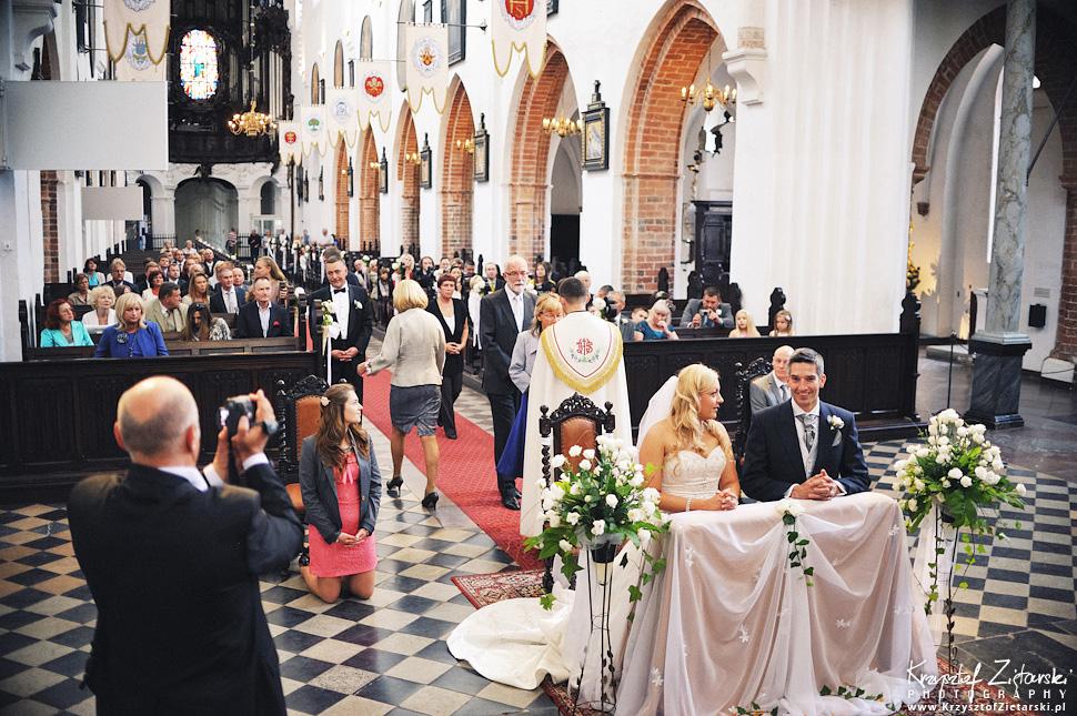 Ślub Marty i Dave'a - ślub polsko-angielski w Gdańsku, fotografia ślubna Gdańsk, Villa Eva - 32.