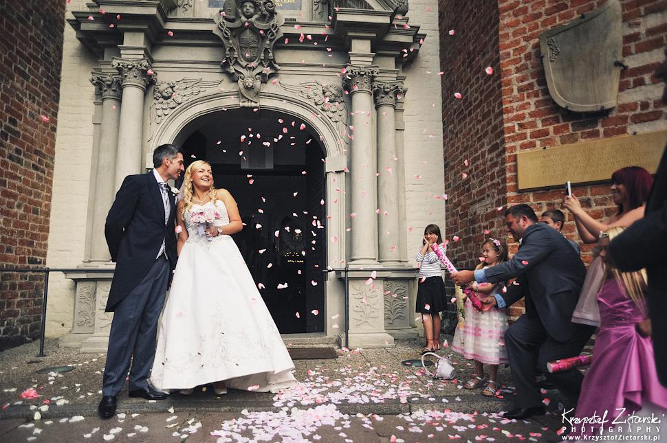 Ślub Marty i Dave'a - ślub polsko-angielski w Gdańsku, fotografia ślubna Gdańsk, Villa Eva