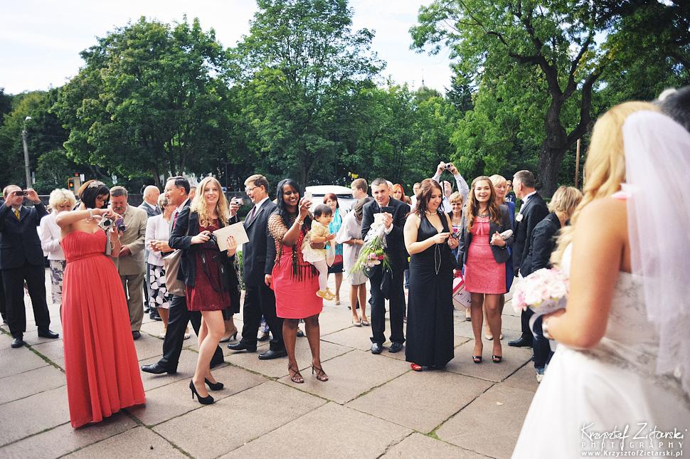 Ślub Marty i Dave'a - ślub polsko-angielski w Gdańsku, fotografia ślubna Gdańsk, Villa Eva - 37.