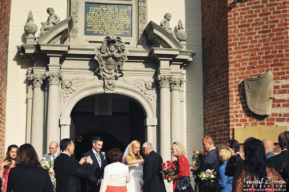 Ślub Marty i Dave'a - ślub polsko-angielski w Gdańsku, fotografia ślubna Gdańsk, Villa Eva - 38.