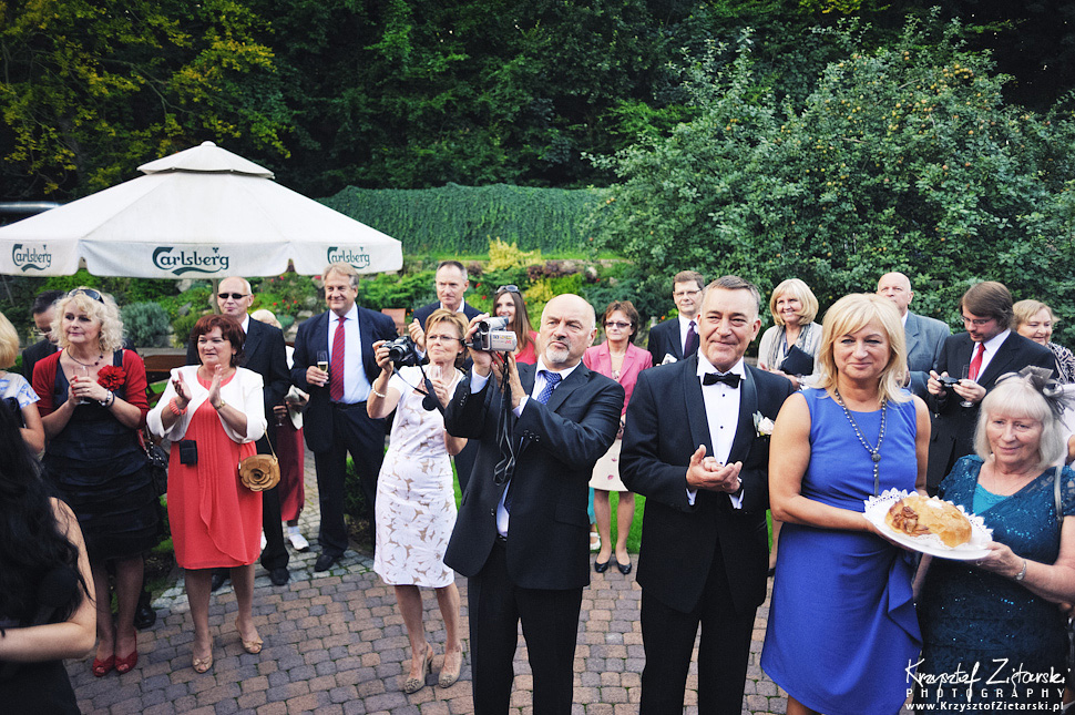 Ślub Marty i Dave'a - ślub polsko-angielski w Gdańsku, fotografia ślubna Gdańsk, Villa Eva - 49.