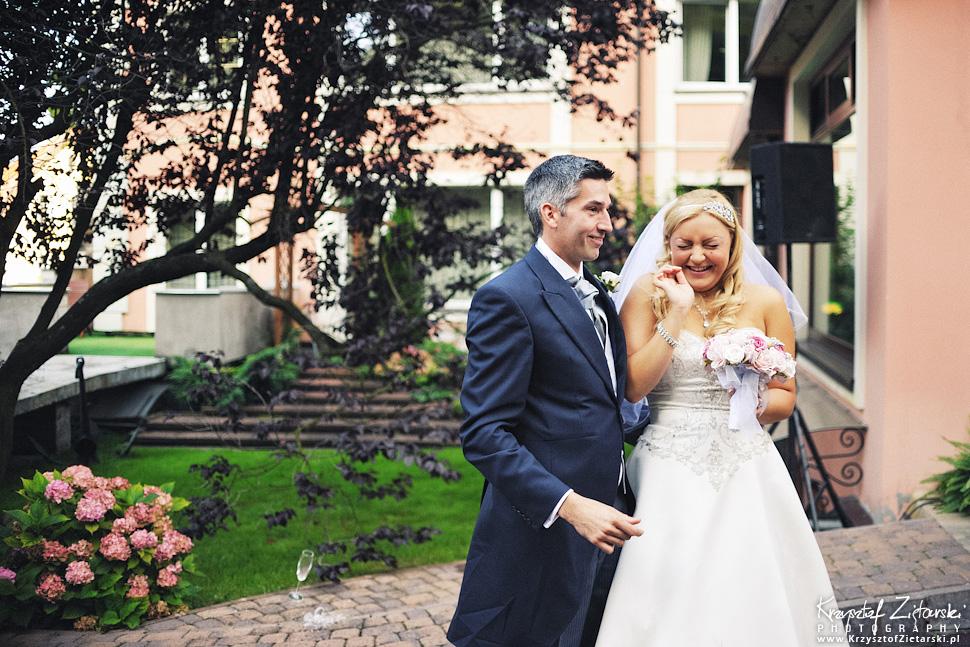 Ślub Marty i Dave'a - ślub polsko-angielski w Gdańsku, fotografia ślubna Gdańsk, Villa Eva - 52.