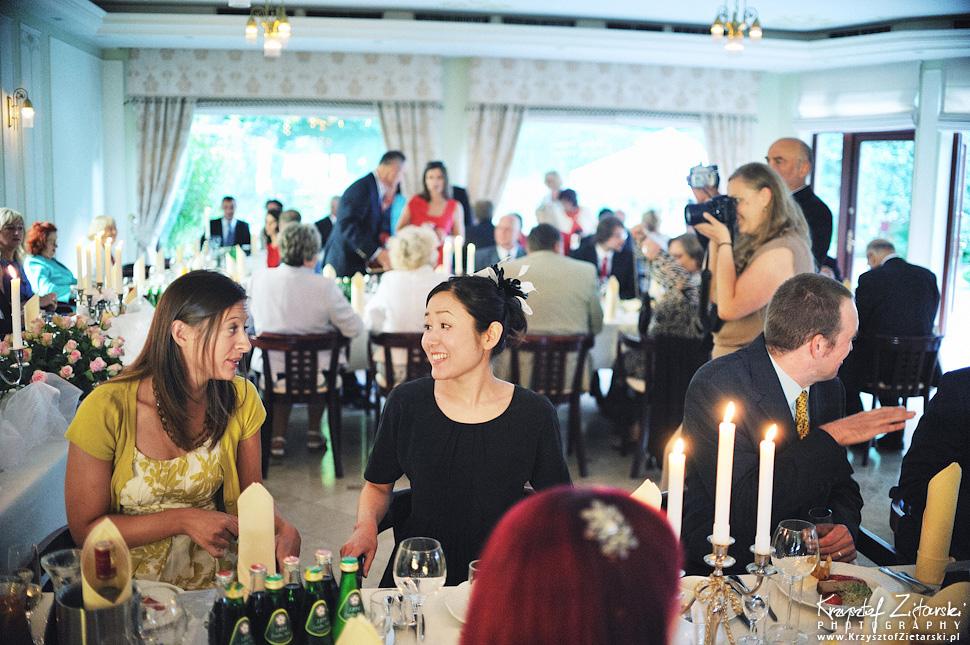 Ślub Marty i Dave'a - ślub polsko-angielski w Gdańsku, fotografia ślubna Gdańsk, Villa Eva - 55.