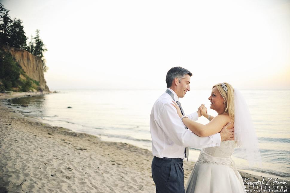 Ślub Marty i Dave'a - ślub polsko-angielski w Gdańsku, fotografia ślubna Gdańsk, Villa Eva - 131.