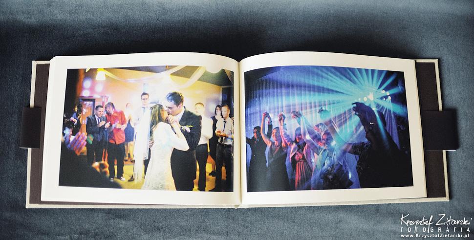 Album do fotografii ślubnej - KrukBook