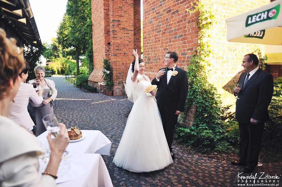 Ślub Kamili i Łukasza - fotografia ślubna Toruń, wesele Hotel 1231, Kościół św.Jakuba - 46.