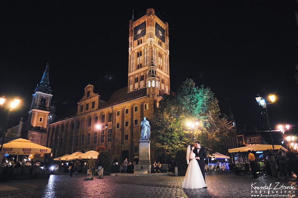 Ślub Kamili i Łukasza - fotografia ślubna Toruń, wesele Hotel 1231, Kościół św.Jakuba - 154.