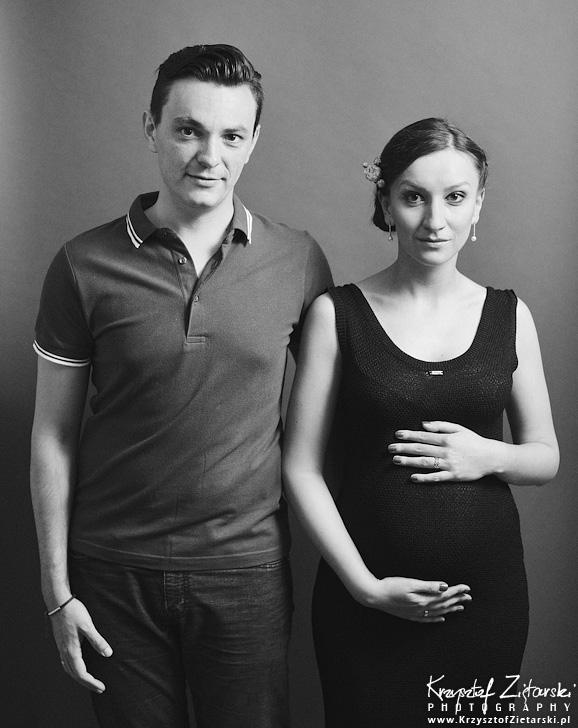 Sesja ciążowa Marysi, Vitka i Leonka - fotografia rodzinna Gdańsk, Trójmiasto