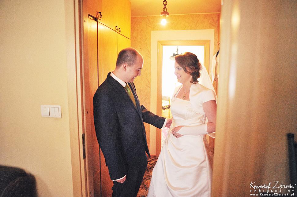 Ślub Doroty i Mateusza - fotografia ślubna Gdańsk, wesele Hotel Amber, ślub w Matemblewie - 7.