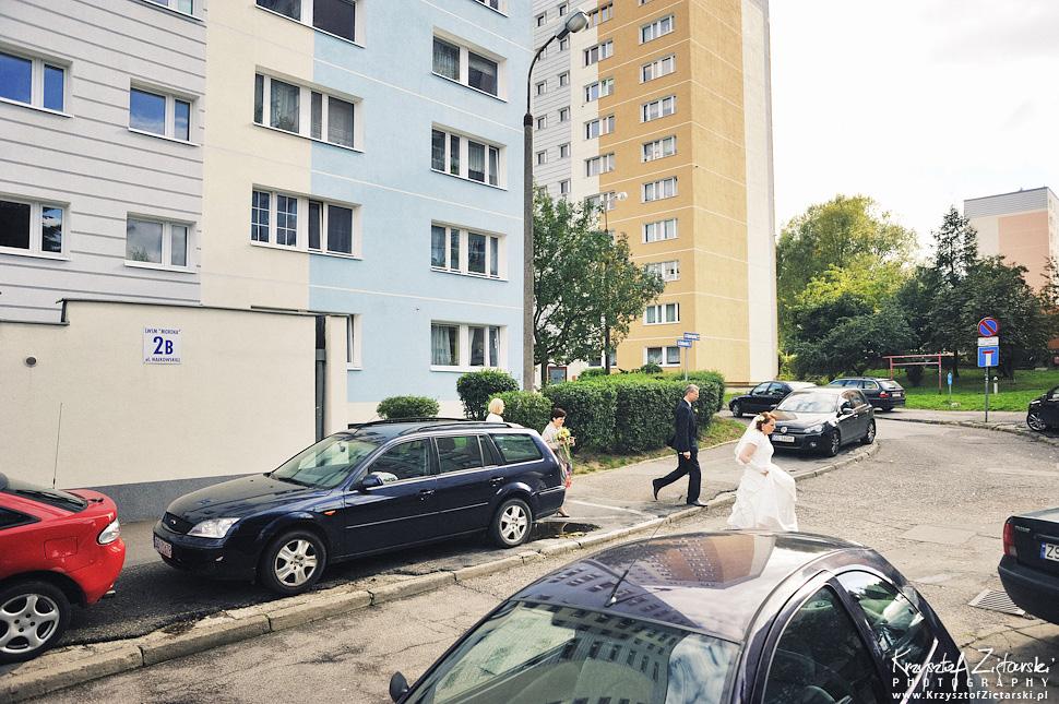 Ślub Doroty i Mateusza - fotografia ślubna Gdańsk, wesele Hotel Amber, ślub w Matemblewie - 9.