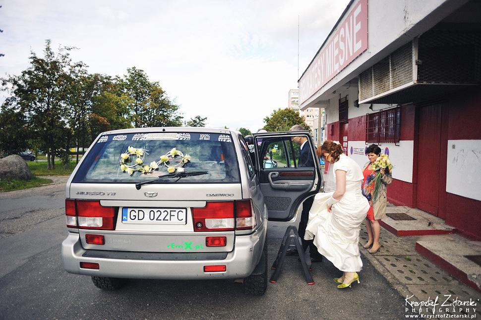 Ślub Doroty i Mateusza - fotografia ślubna Gdańsk, wesele Hotel Amber, ślub w Matemblewie - 10.