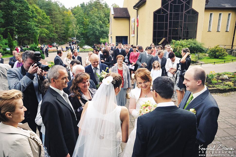 Ślub Doroty i Mateusza - fotografia ślubna Gdańsk, wesele Hotel Amber, ślub w Matemblewie - 15.