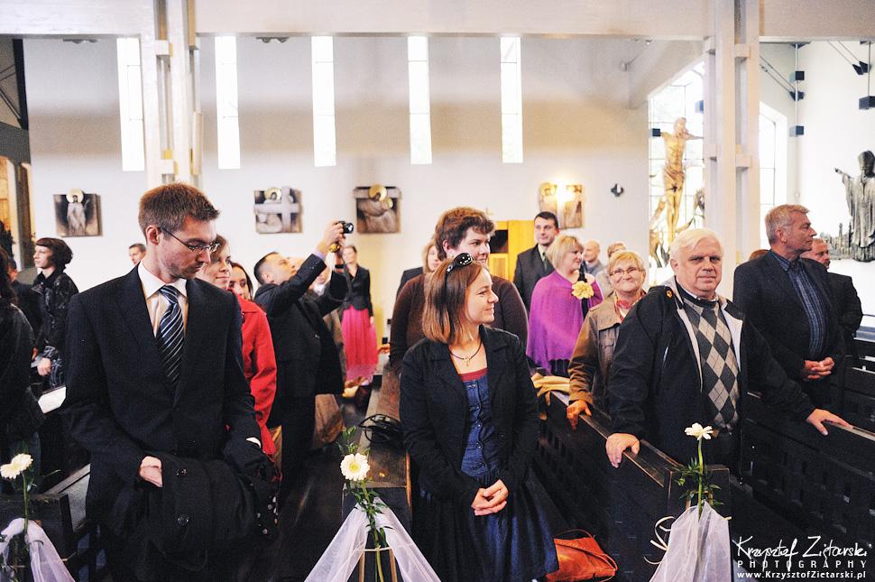 Ślub Doroty i Mateusza - fotografia ślubna Gdańsk, wesele Hotel Amber, ślub w Matemblewie - 17.