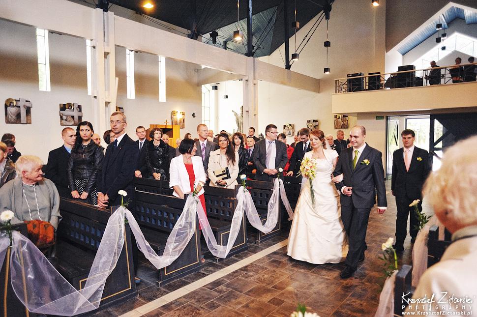 Ślub Doroty i Mateusza - fotografia ślubna Gdańsk, wesele Hotel Amber, ślub w Matemblewie - 18.
