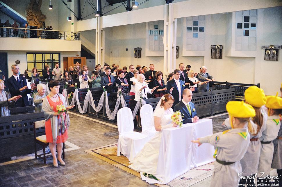 Ślub Doroty i Mateusza - fotografia ślubna Gdańsk, wesele Hotel Amber, ślub w Matemblewie - 34.
